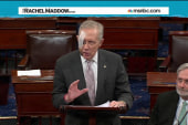 Bruised Harry Reid returns to Senate floor
