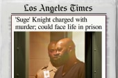 Suge Knight to make first court appearance