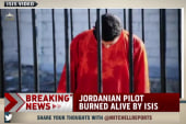 Reports: Jordanian pilot burned alive by ISIS
