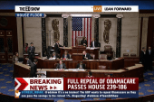 House votes to repeal Obamacare, 239-186