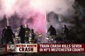 'Harrowing': Seven dead after train collision