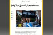 New twist in Argentine prosecutor's case
