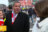 Did Chris Christie make an impact in London?
