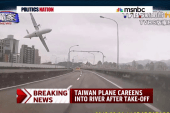 The Taiwan plane and Metro North crashes