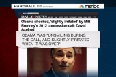 Axelrod: Obama 'irritated' by Romney call
