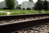 What to do when you're stuck on train tracks