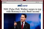 Scott Walker benefits from Romney's exit