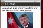 'ISIS screwed with the wrong king'