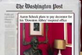 Congressman to repay decorating fees