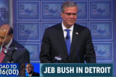 Jeb Bush distances himself from the far right