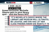 Could the Presidential library come to NYC?