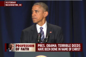 Joe: Obama's prayer speech 'baffling'