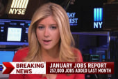 Report: 257,000 jobs added in January