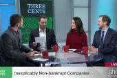 Inexplicably non-bankrupt companies