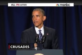 The right flips over Obama 'Crusades' comment