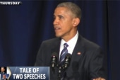 President Obama's speech draws criticism