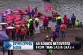 40 bodies recovered from TransAsia crash