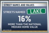 Street names found to boost home values