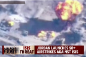 Jordan launches 50+ airstrikes against ISIS