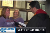 Same-sex marriages begin in Alabama