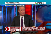 Jon Stewart leaving as host of The Daily Show