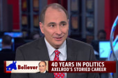 Axelrod reflects on 'Forty Years' in politics