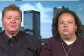 Couple: Marriage equality 'is a civil right'