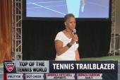 Katrina Adams makes tennis history