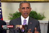 Pres. Obama requests war powers from Congress