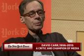 Morning Joe remembers David Carr