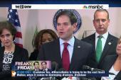Is Senator Rubio trying to destroy unions?