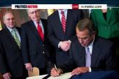 The Keystone signing ceremony fail