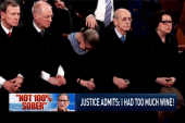 Justice Ginsburg: 'I wasn't 100% sober'