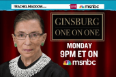 Maddow show to air Ginsburg interview Monday
