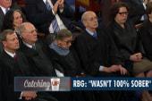 Ruth Bader Ginsburg: 'Wasn't 100% sober'