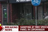 Shooting at free speech panel in Copenhagen
