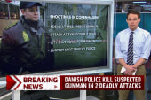 Danish police kill suspected gunman