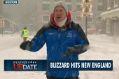 Heavy snow continues to hit Boston