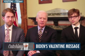 Joe Biden delivers Valentine message