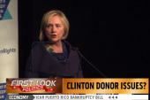 Donor problems for Hillary?