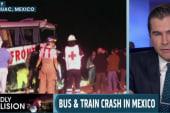 Death toll rises in Mexican bus, train crash