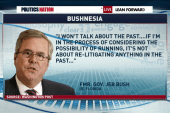 Why won't Jeb talk about the past?