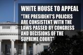 Judge blocks executive order on immigration