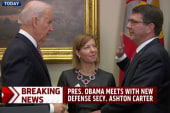 Ashton Carter sworn in as Defense secretary