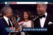 Fans react to Rev. Al and Sarah Palin