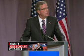 Jeb Bush staggers into foreign policy