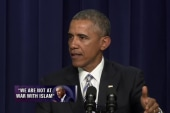 Pres. Obama: 'We are not at war with Islam'