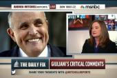 Giuliani criticizes Obama's love for America