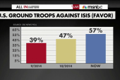 Support grows for US ground troops against...