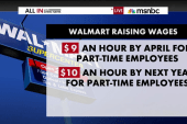 Walmart gives 500,000 people a raise